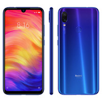 Xiaomi Redmi Note 7: Dual SIM Smartphone 64GB Neptune Blue - Special Global Edition with Band 28 700MHz for full NZ mobile network compatibility image
