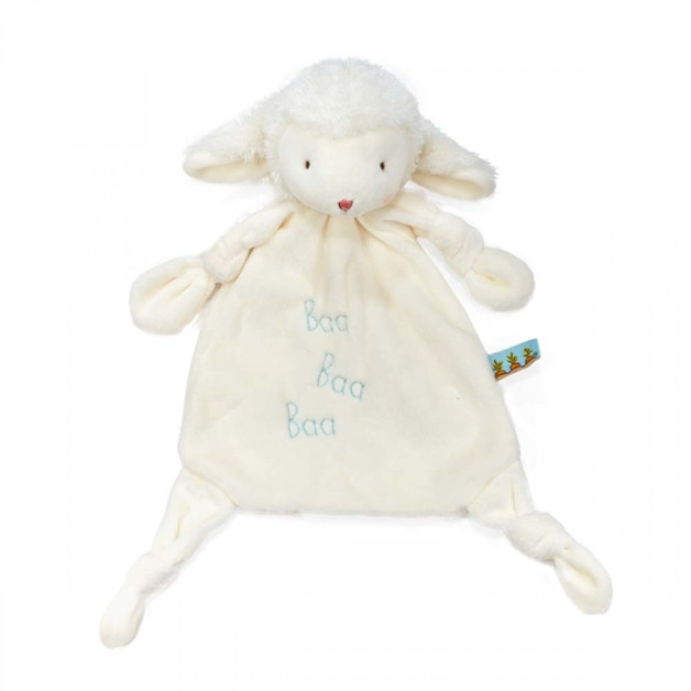 Bunnies By The Bay: Teether - Knotty Pal Kiddo (White)