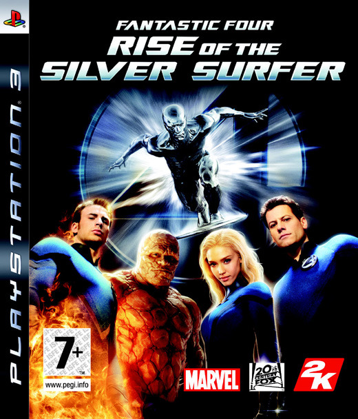 Fantastic 4: Rise of the Silver Surfer for PS3