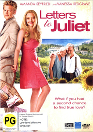 Letters to Juliet on DVD