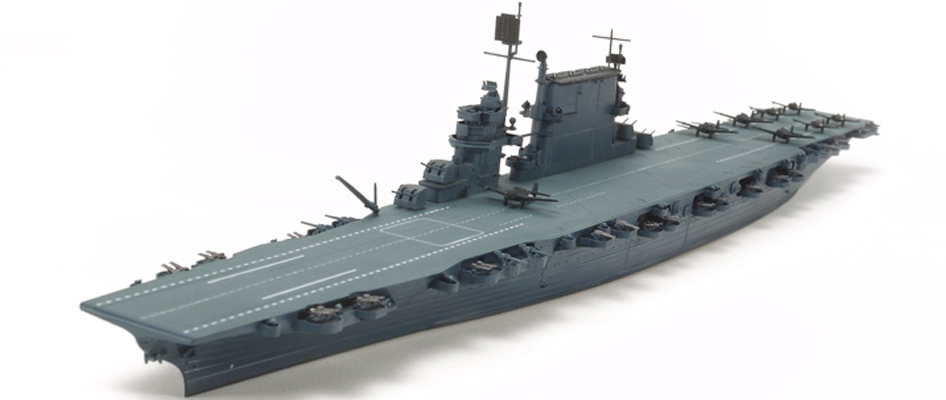 Tamiya U.S. Aircraft Carrier Saratoga CV-3 1/700 Model Kit image