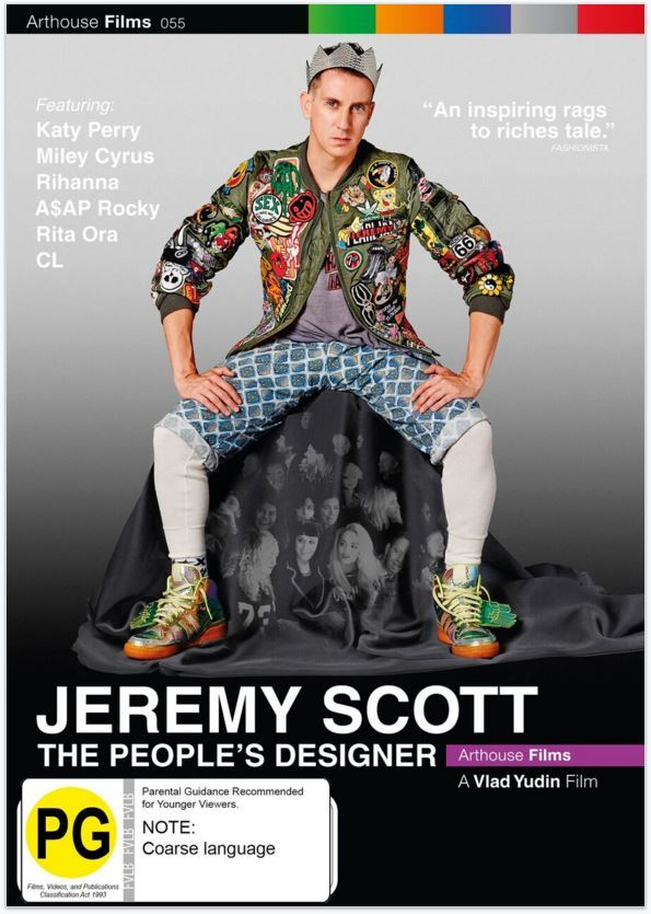Jeremy Scott - The People's Designer on DVD image