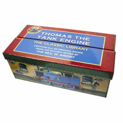 Thomas the Tank Engine: The Classic Library Station Box by Wilbert Vere Awdry image