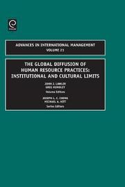 Global Diffusion of Human Resource Practices by John J. Lawler