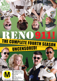 Reno 911: Season 4 (2 Disc Set) on DVD