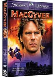 MacGyver - Season 7 - The Final Season (4 Disc Set) on DVD image