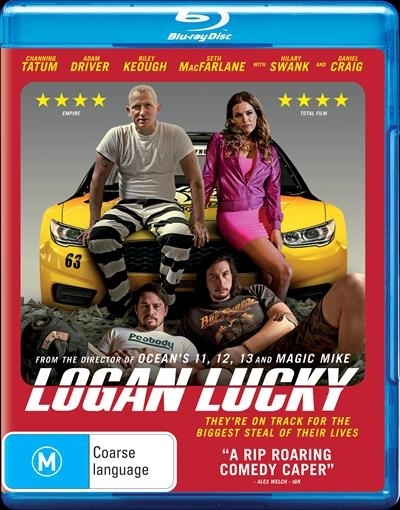 Logan Lucky on Blu-ray image