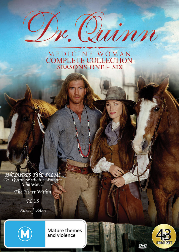 Dr Quinn Medicine Woman - Complete Collection (Includes East Of Eden) on DVD image