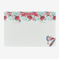 Legami: Smart Notes Paper Mousepad & Notepad - Flowers