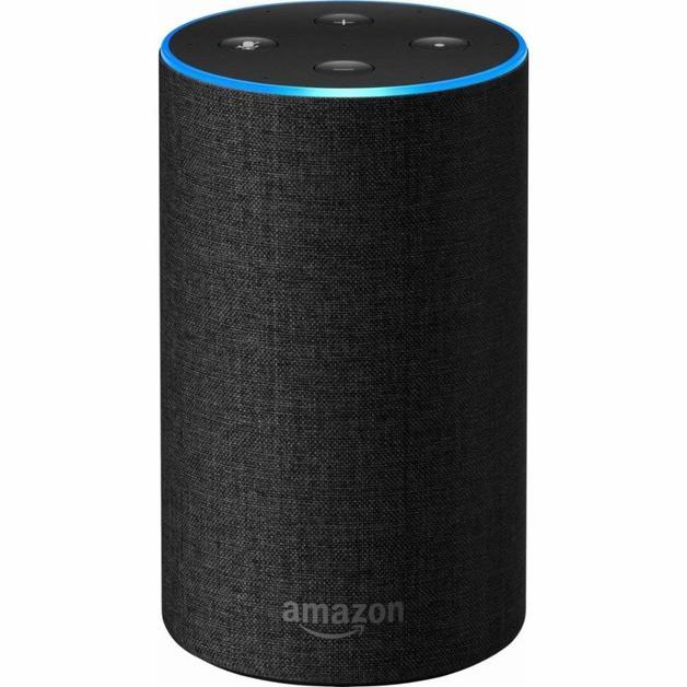 Amazon: Echo (2nd Generation) Speaker - Charcoal
