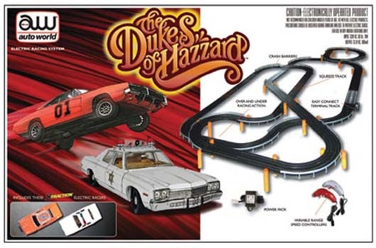 Auto World The Dukes of Hazzard Slot Car Set image
