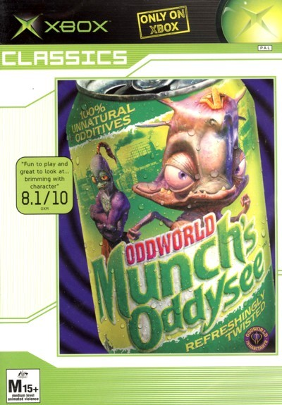 Oddworld: Munch's Oddysee for Xbox