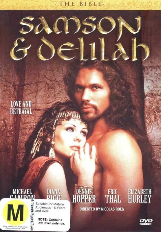 The Bible - Samson And Delilah on DVD