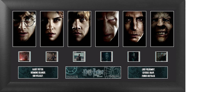 FilmCells: Deluxe-Cell Frame – Harry Potter (S1 - Deathly Hallows)