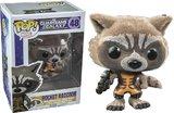 Guardians of the Galaxy Flocked Rocket Raccoon Pop! Bobble Vinyl Figure