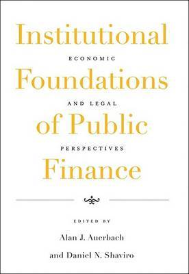 Institutional Foundations of Public Finance image