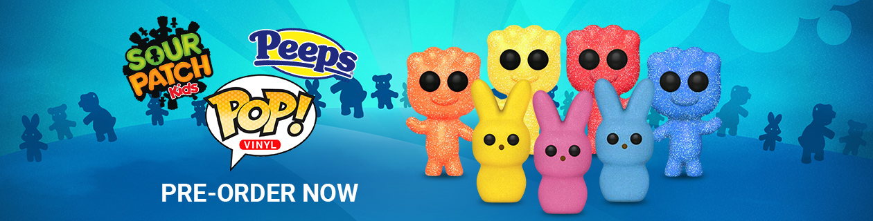 Peeps & Sour Patch Kids Pop! Vinyls - Just Announced! Pre-Order Now