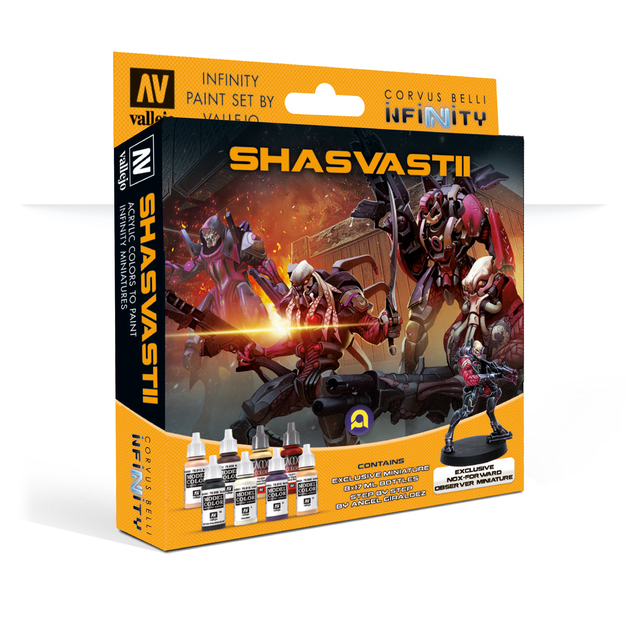 Infinity Combined Army (Shasvastii) Paint Set