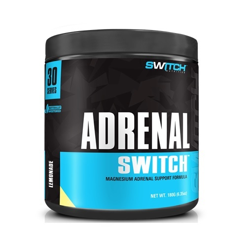 Adrenal Switch - Magnesium Adrenal Support Formula - Strawberry Pineapple (30 Serves)