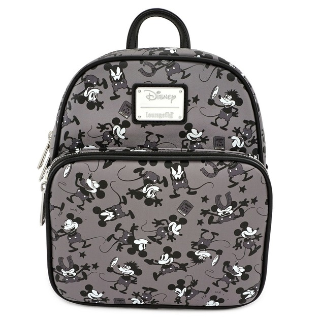 Loungefly: Mickey Mouse - Mickey Black & White Backpack
