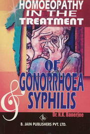Homoeopathy in the Treatment of Gonorrhoea and Syphilis by N.K. Banerjee image