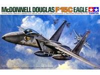 Tamiya U.S. McDonell Douglas F-15C Eagle 1/48 Aircraft Model Kit