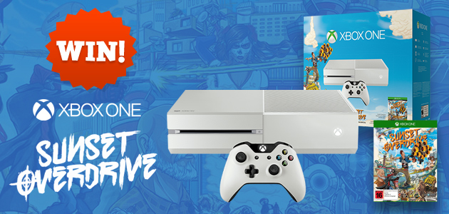 Your chance to win an Xbox One Sunset Overdrive Console ...