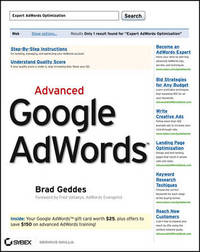Advanced Google AdWords by Brad Geddes image