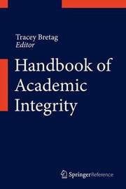 Handbook of Academic Integrity