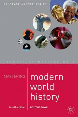 Mastering Modern World History by Norman Lowe image