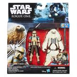 "Star Wars Rogue One: Scarif Stormtrooper & Moroff - Deluxe 3.75"" Figure 2-Pack"