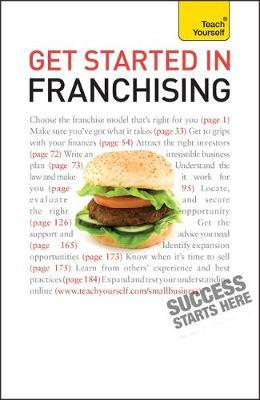 Get Started in Franchising: Teach Yourself by Kurt Illetschko image