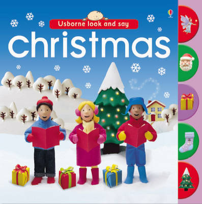 Christmas (Usborne Look & Say) by Felicity Brooks image