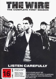 The Wire - The Complete 1st Season  (5 Disc Set Slimline) on DVD image