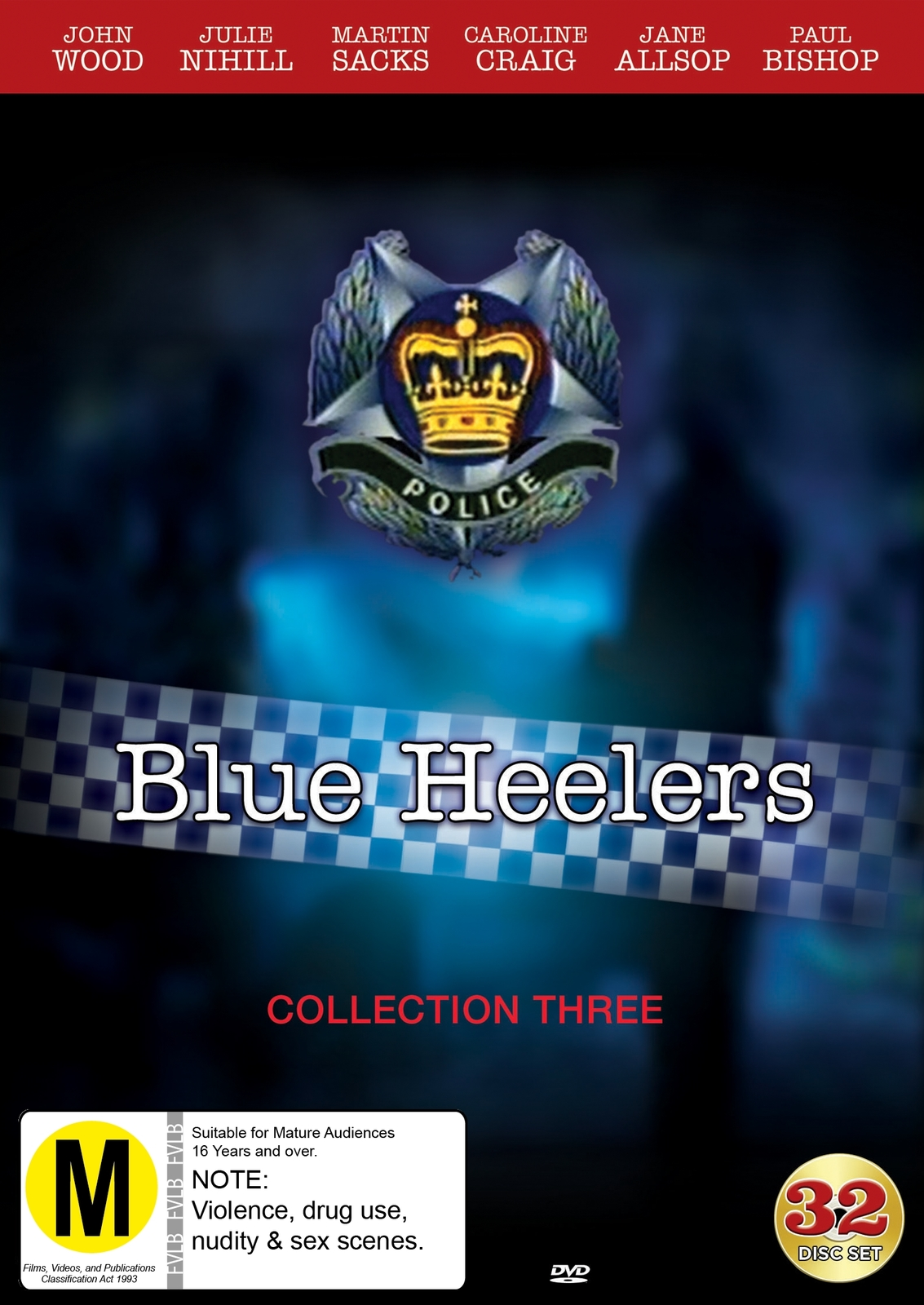 Blue Heelers - Collection 3 on DVD image