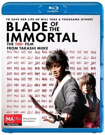 Blade Of The Immortal on Blu-ray