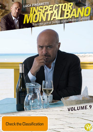 Inspector Montalbano - Volume 9 on DVD