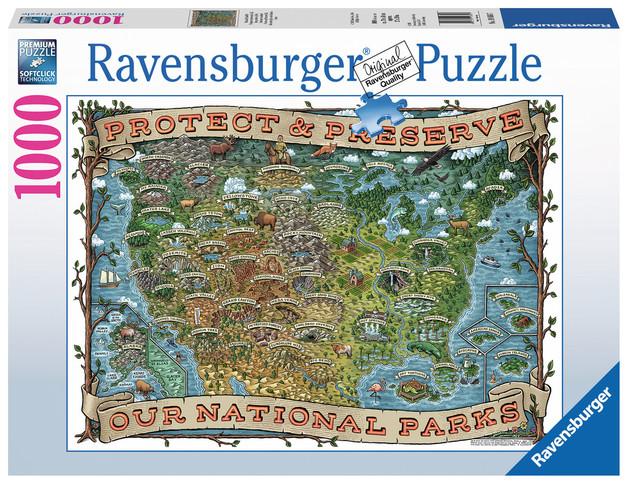 Ravensburger : Protect and Preserve USA Puz (1000 Pcs)