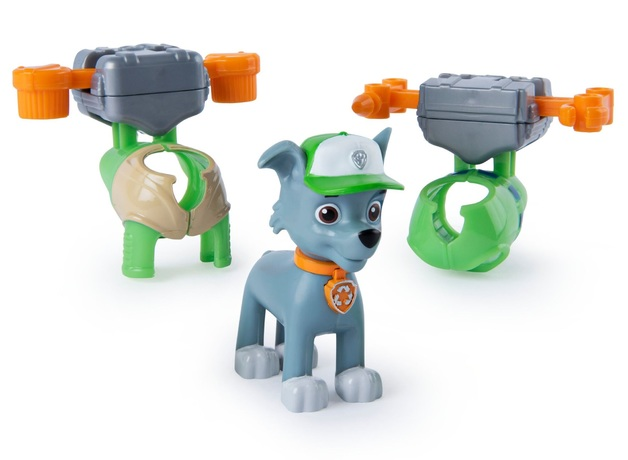 Paw Patrol: Action Pack Pups - Multi-Pack Rocky