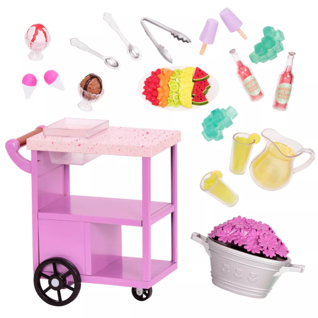 Our Generation: Deluxe Accessory Set - Summer Treats Trolley