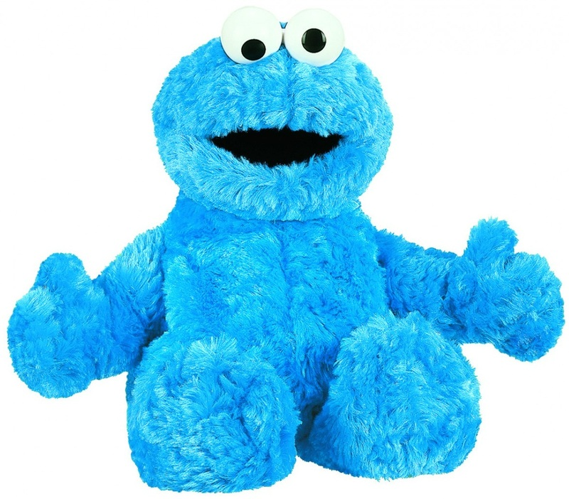 Sesame Street - Soft Toy Small Cookie Monsters image