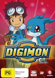 Digimon: Digital Monsters 02 (2000) Season 2 Collection 1 (Eps 1-25) on DVD