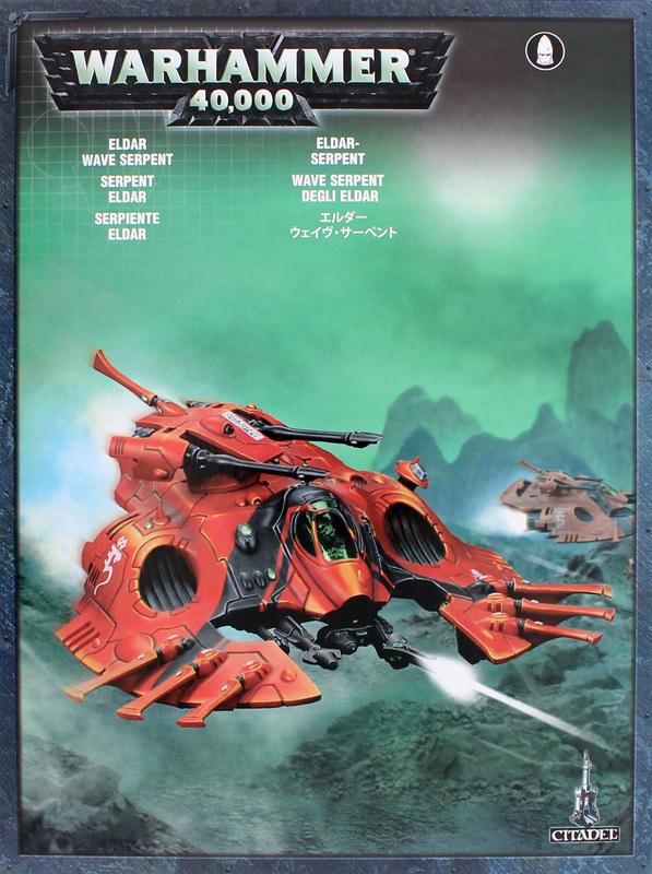 Warhammer 40,000 Eldar Wave Serpent