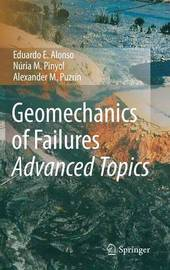 Geomechanics of Failures. Advanced Topics by Eduardo E Alonso image