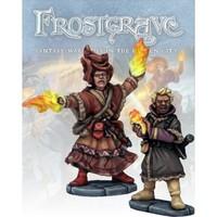 Frostgrave - Elementalist & Apprentice