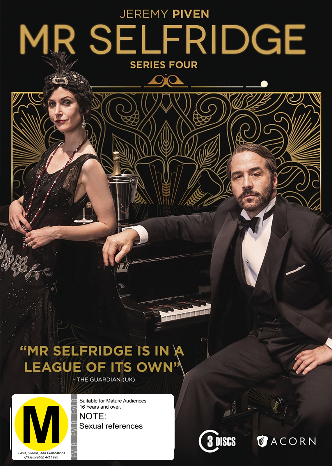 Mr Selfridge - Series 4 on DVD image