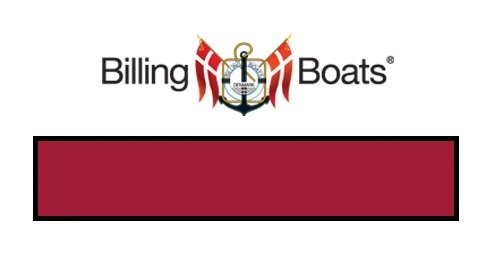 Billing Boats: Acrylic Paint - Bright Red (22ml)