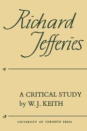 Richard Jefferies by William J. Keith image