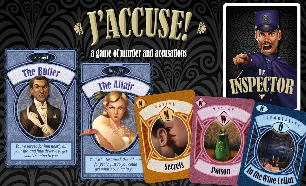 J'Accuse! - The Game of Murder, Accusations & Denials image