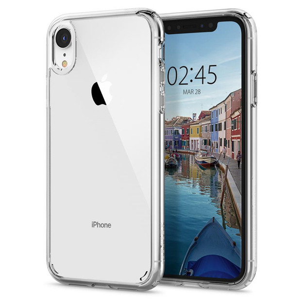 Spigen: Ultra Hybrid Case for iPhone XR - Clear